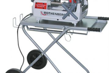 Rothenburger Pipe Threading Machine 56045-73
